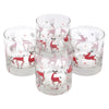 The Modern Home Bar Reindeer Games Rocks Glasses Top View