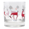 The Modern Home Bar Reindeer Games Rocks Glass Pattern View A