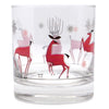 The Modern Home Bar Reindeer Games Rocks Glass Pattern View B