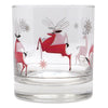 The Modern Home Bar Reindeer Games Rocks Glass Pattern View C