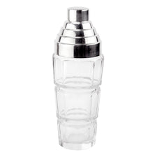 Crystal Art Deco Style Cocktail Shaker