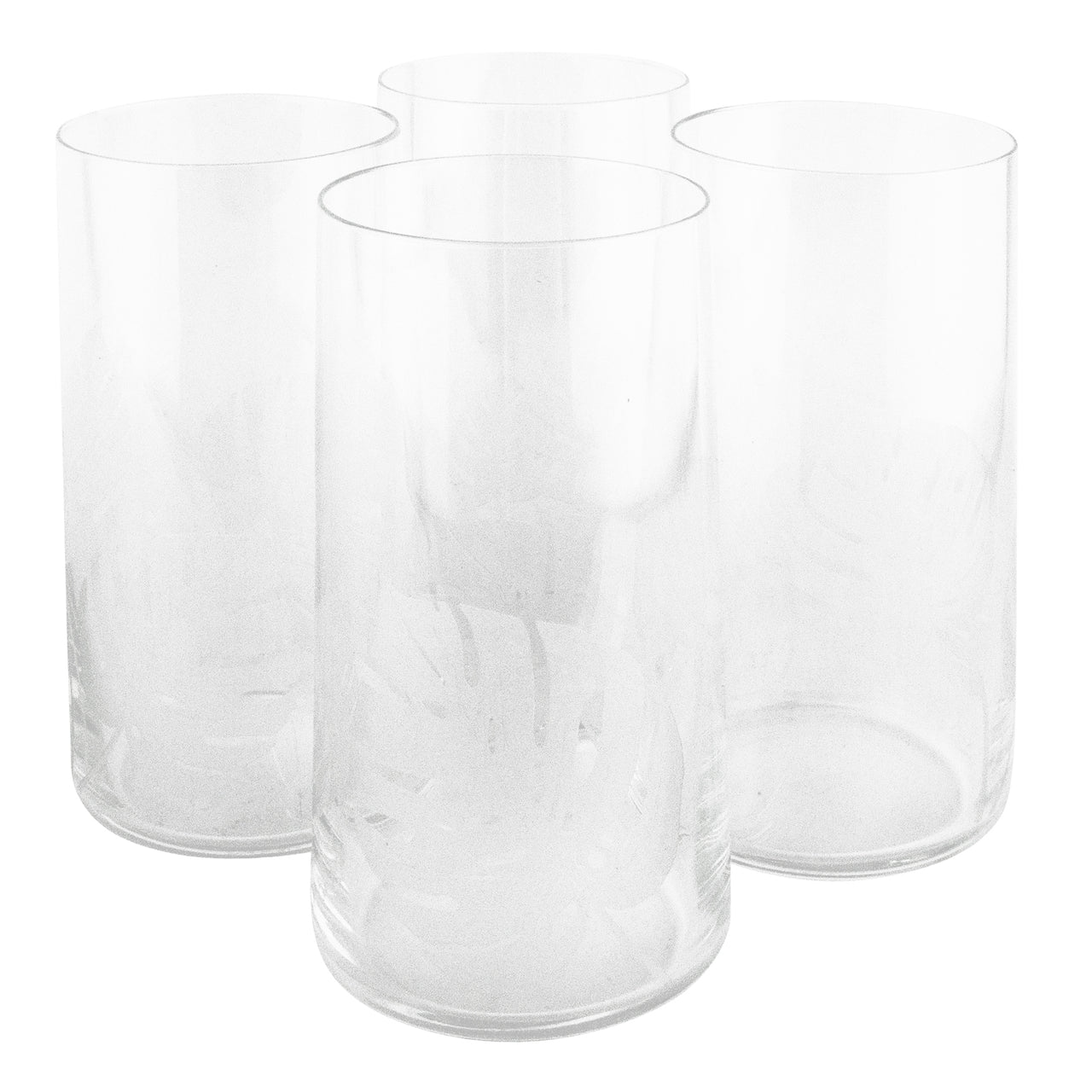 The Modern Home Bar Etched Philodendron Highball Glasses