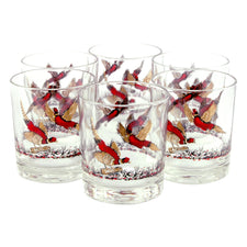 Hazel Atlas Pheasant Rocks Glasses