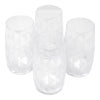 The Modern Home Bar Deco Diamonds Hi Ball Glasses