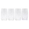 The Modern Home Bar Deco Diamonds Hi Ball Glasses Set of 4 Design