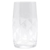 The Modern Home Bar Deco Diamonds Hi Ball Glass