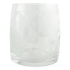 The Modern Home Bar Deco Diamonds Lo Ball Glass