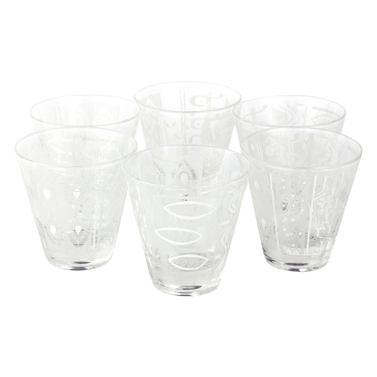 Gay Fad Mod Single Old Fashioned Glasses
