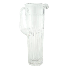 Vintage Empire Style Cut Crystal Cocktail Pitcher | The Hour