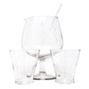 Vintage You Me & Ours Pedestal Cocktail Pitcher Set Front | The Hour Shop