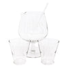 Vintage You Me & Ours Pedestal Cocktail Pitcher Set | The Hour Shop