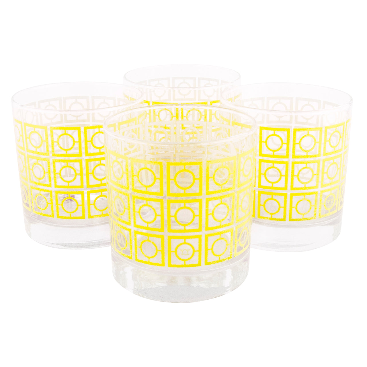 The Modern Home Bar Breezeway Yellow Rocks Glasses