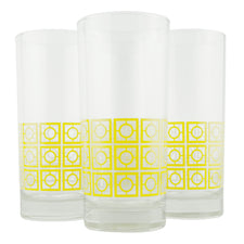The Modern Home Bar Breezeway Yellow Collins Glasses