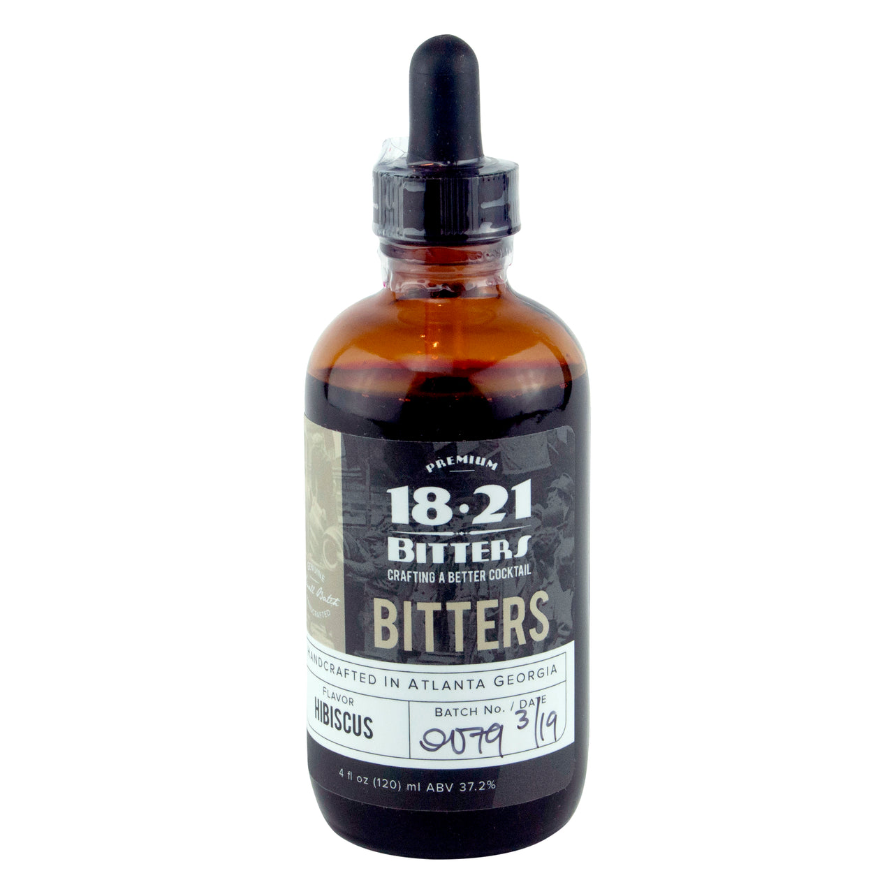 18.21 Bitters Hibiscus Bitters | Premium Craft Cocktail Bitters