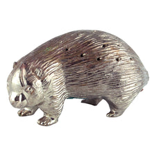 Vintage Silver Porcupine Cocktail Pick Holder | The Hour Barware