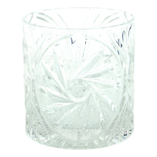 Vintage Heavy Cut Crystal Glass Ice Bucket | The Hour
