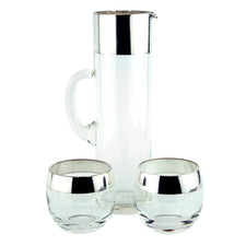 Vintage Dorothy Thorpe 3 Piece Cocktail Pitcher Set | The Hour