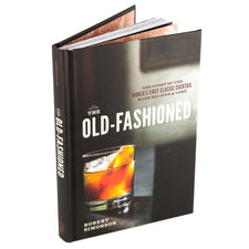 The Old Fashioned Cocktail Recipes Book | Hardcover Bar Book