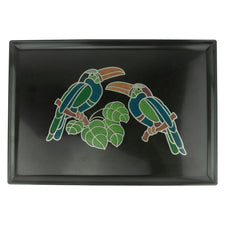 Couroc Two Toucans Tray