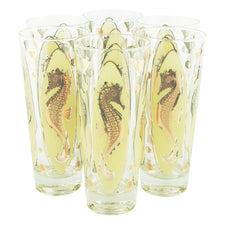 Vintage Fred Press Yellow & Gold Seahorse Collins Glasses | The Hour