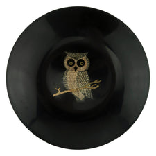 Vintage Couroc Owl On Branch Black Resin Bowl | The Hour