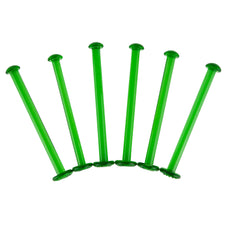 Vintage Green Glass Muddling Stir Sticks | The Hour Bar Tools