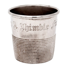 Chrome Plated Thimble Jigger