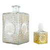 Vintage Gold Hobnail Decanter 2 Piece | The Hour Shop