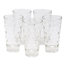 Vintage Hazel Atlas Clear Capri Collins Glasses | The Hour Shop