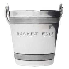 Vintage Napier Silver Plate Bucket Full Jigger | The Hour