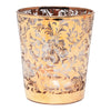 Vintage Gold Floral Cocktail Shaker Set Cocktail Glass | The Hour