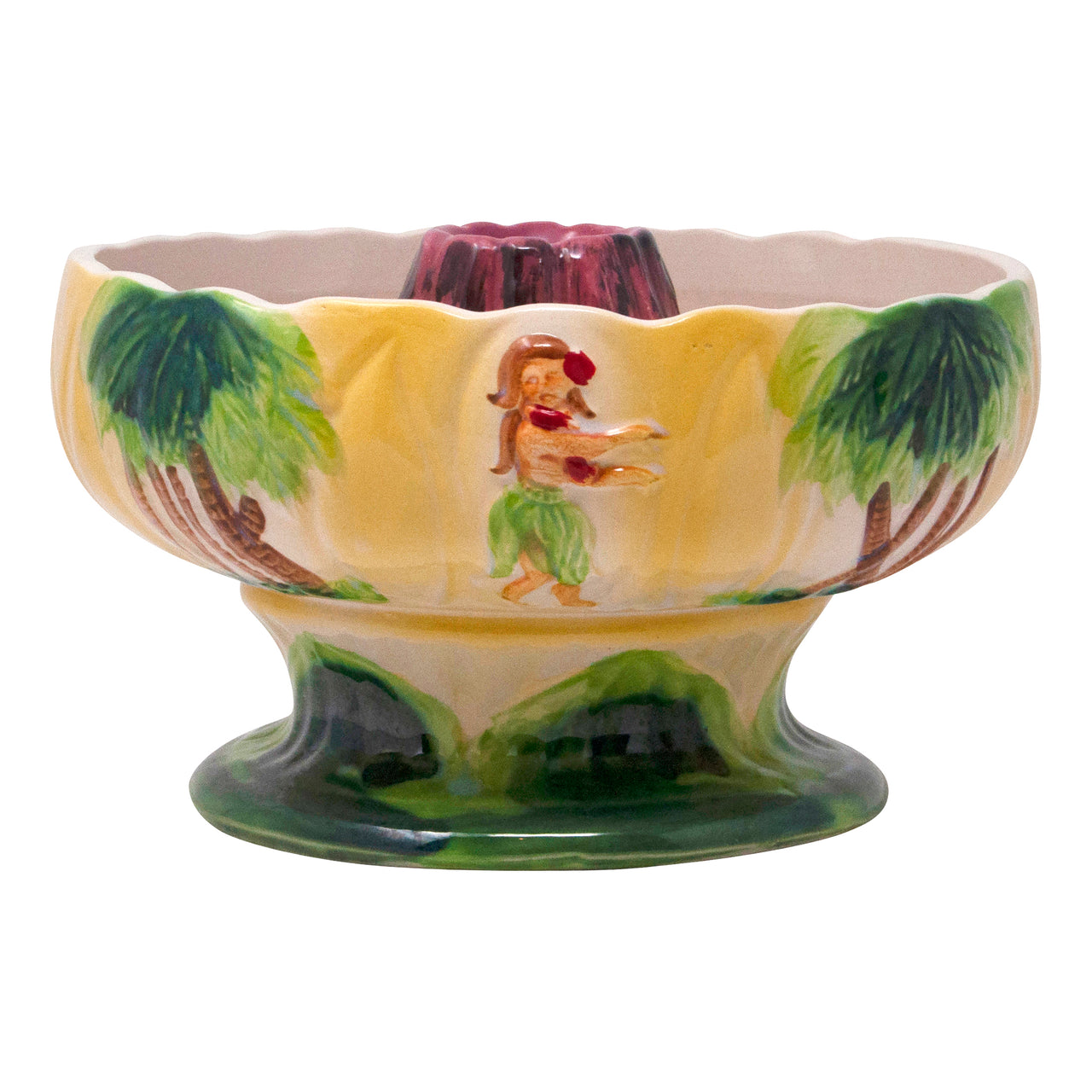 Vintage Ceramic Volcano Scorpion Bowl | The Hour Shop