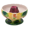 Vintage Ceramic Volcano Scorpion Bowl Top View | The Hour Shop