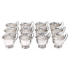 Vintage Crescent Silver Plate Punch Cups | The Hour Shop