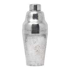 Vintage Carl Deffner Hammered Silver Plate Cocktail Shaker | The Hour Shop