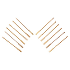 12 Vintage English Gold Arrow Cocktail Picks  | The Hour