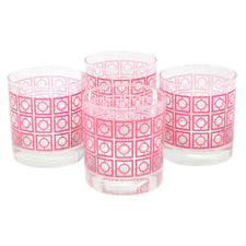 The Modern Home Bar Breezeway Coral Rocks Glasses