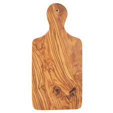 Natural Olive Wood Paddle Cutting Board, The Hour Barware