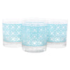 The Modern Home Bar Breezeway Teal Rocks Glasses