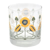 The Modern Home Bar Golden Poppy Rocks Glasses