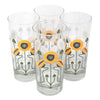 The Modern Home Bar Golden Poppy Collins Glasses