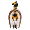 Vintage Swank Ceramic Jockey Decanter Front | The Hour Shop