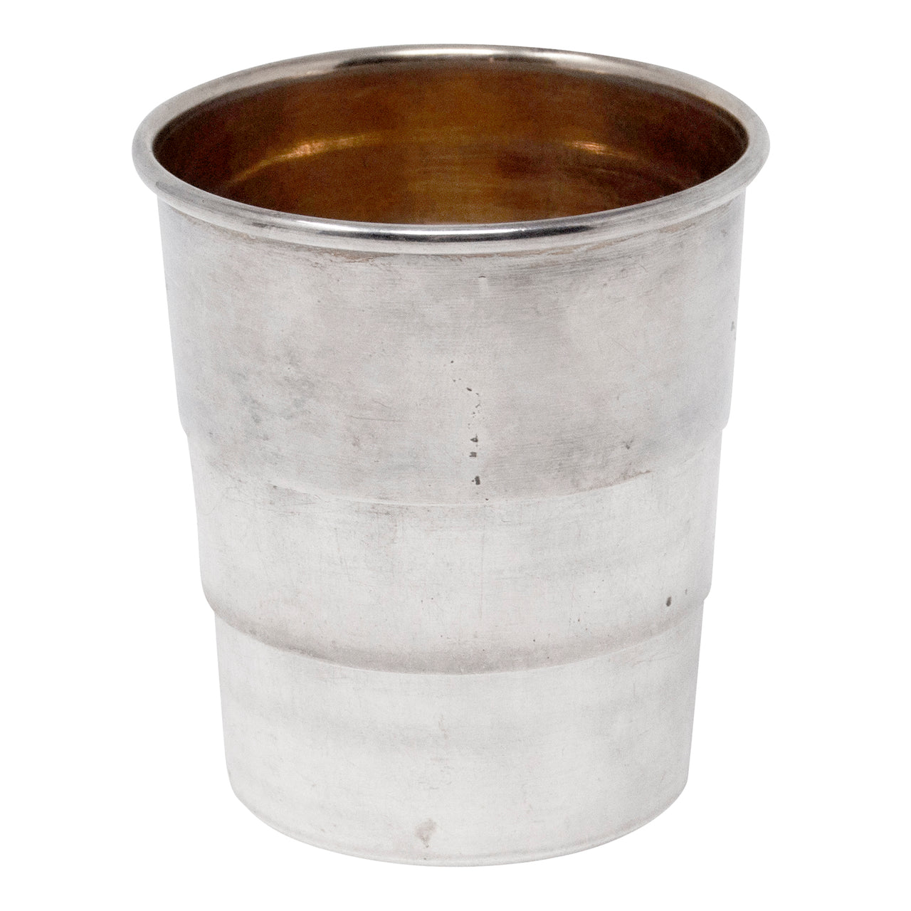 Vintage Silver Plate Collapsible Travel Cup | The Hour