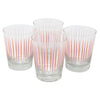 The Modern Home Bar Pick Me Orange and Pink Old Fashioned Glasses | The Hour Shop