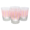 The Modern Home Bar Pick Me Orange and Pink Old Fashioned Glasses
