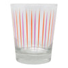 The Modern Home Bar Pick Me Orange and Pink Old Fashioned Glass | The Hour Shop
