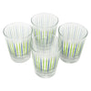 The Modern Home Bar Pick Me Blue and Green Old Fashioned Glasses Top | The Hour Shop