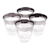 Vintage Mercury Band Single Old Fashioned Glasses | The Hour Shop