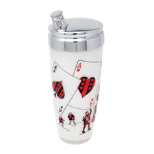 Vintage Aces Playing Card Cocktail Shaker | The Hour Shop