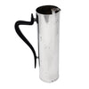 Vintage Gorham Silver Plate Black Cylindrical Art Deco Pitcher Left | The Hour Shop